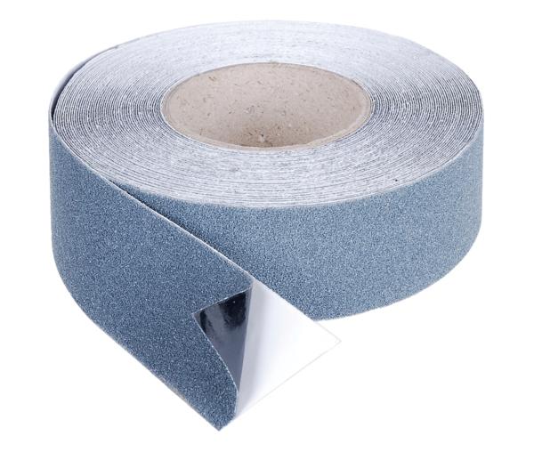 Anti-Rutsch-Streifen, selbstklebend, auf Rolle, Material: Kunststoff, Farbe: anthrazit, Inhalt pro PE: 1St., Breite: 50mm, SB-verpackt