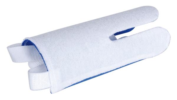 Strumpfanziehhilfe,weiß/blauSB1St