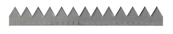 Zackenleiste,roh,z.Anschweißen,2000x42