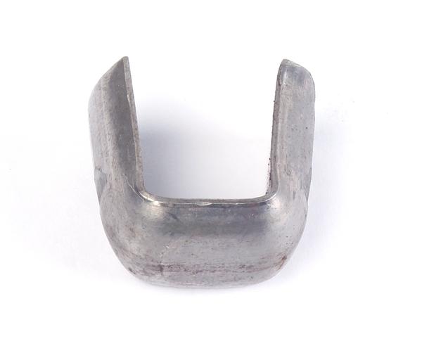 Bund zur Verbindung von Zierelementen, Material: Stahl roh, Inhalt pro PE: 10St., Höhe: 25mm, Breite: 23mm, Bundbreite: 16mm, Bundstärke: 5mm, SB-verpackt