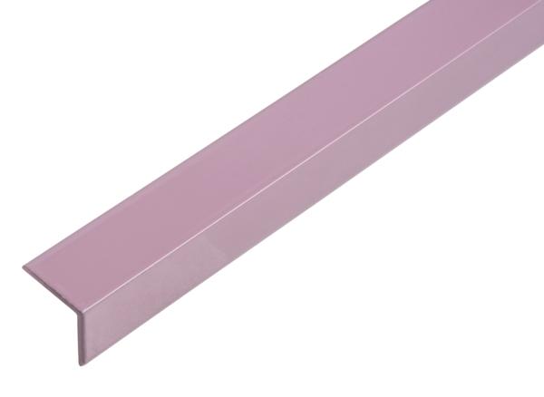 Winkelprofil, selbstklebend, beschichtet in Trendfarben, Material: Aluminium, Oberfläche: blueberry cream kunststoffbeschichtet, Breite: 14,5mm, Höhe: 11,5mm, Materialstärke: 1,5mm, Länge: 1150mm