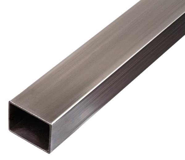 Rechteckrohr,Stahl,k.gew.40x20x2,0/2m