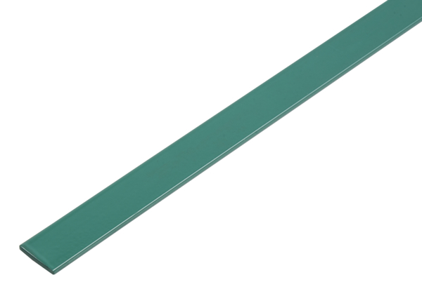 Flachstange, selbstklebend, beschichtet in Trendfarben, Material: Aluminium, Oberfläche: deep ocean kunststoffbeschichtet, Breite: 14,5mm, Materialstärke: 1,5mm, Länge: 1150mm