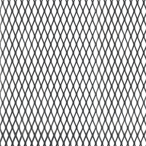Streckmetallblech,ALU,schwarz,600x1000x1