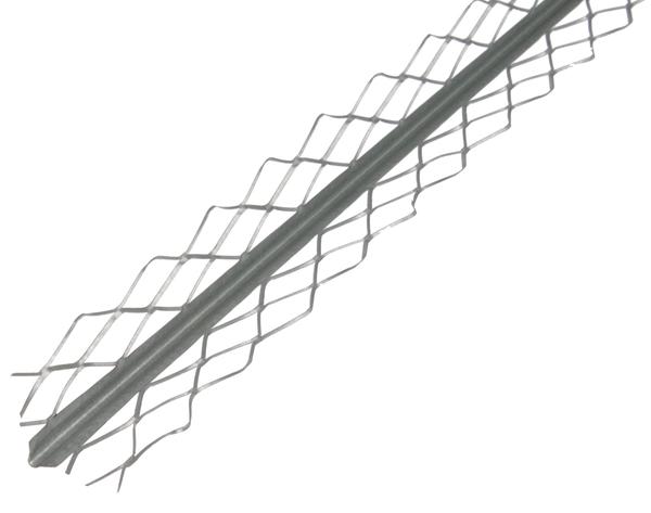 Kanten-Putzpr.Stahl,fvz,32x32/2,6m