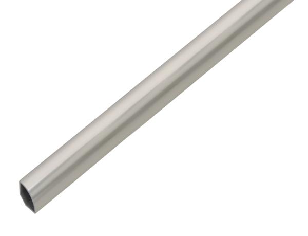 Viertelkreisprofil,PVC,VA-Opt15x15x1,2/1