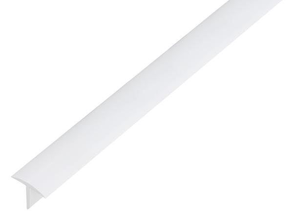 T-Profil,PVC,wß,25x18x2/2,6m