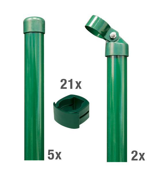 Pfostenset Fix-Clip Pro®,anth,1020/10m