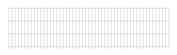 Doppelstab-Gittermatte6/5/6anth2500x2030