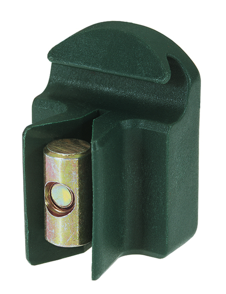 Spanndrahthalter mSchraube,KST,grün10St