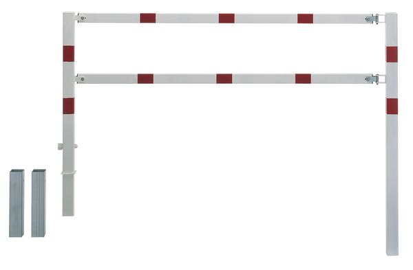 Absperrgitter Moovy,weiß,rot.R,zE,3000