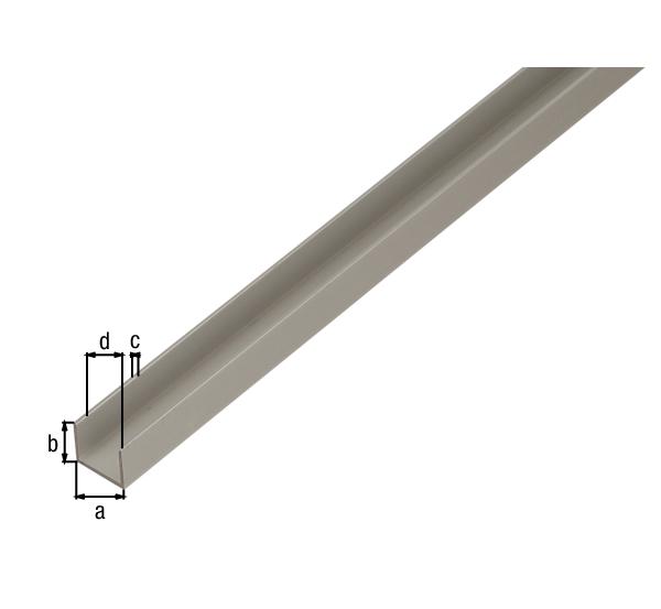 Bevorzugt U-Profil für Spanplatten – GAH-Alberts VX35